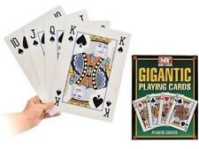 A4 Giant Jumbo Playing Cards Family Fun BBQ Games Birthday Party Deck Of 52 New