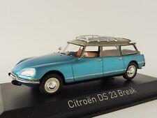 Citroen DS 23 Break Año 1974 delta azul Metálico 1 43 Norev