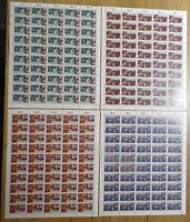 Bund 1259 - 1262 postfrisch LUXUS Bogen Satz Michel 300 € Formnummer 2 ungefalte