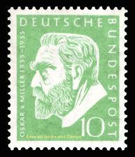 EBS Germany 1955 Oskar von Miller Deutsches Museum Michel 209 MNH**