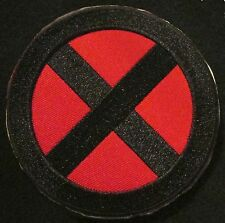 XMEN ORIGINAL LOGO BLACK OPS RED US VELCRO® BRAND FASTENER MORALE BADGE PATCH