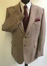 MS2475 Fashion point Foster Men's Vintage Tweed Blazer Jacket Taille 42 UK