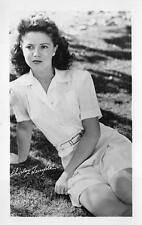 RPPC SHIRLEY TEMPLE HOLLYWOOD MOVIE STAR REAL PHOTO POSTCARD (c. 1950s)