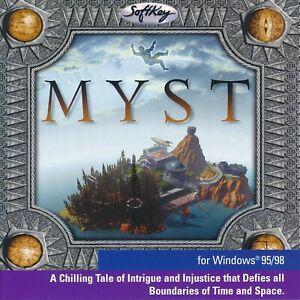 MYST - Classic PC Adventure Game - PC CD-ROM Game (Jewel Cases)