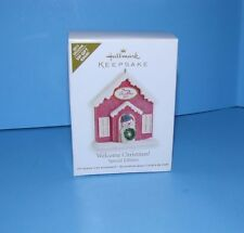 Hallmark Ornament Welcome Christmas Special Edition VIP Gift Repaint 2011