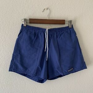 Vintage Patagonia Women's Blue Baggies Shorts Size Small Made In USA