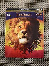 The Lion King 4k Ultra HD + Blu-Ray Bestbuy Exclusive Steelbook
