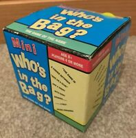 Mini Who's In The Bag? Game By Paul Lamond Games - Complete With Instructions