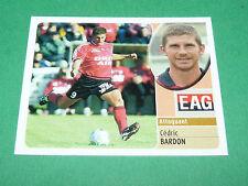 CEDRIC BARDON EN AVANT GUINGAMP EAG PANINI FOOT 2003 FOOTBALL 2002-2003