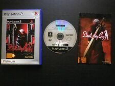 DEVIL MAY CRY : JEU Sony PLAYSTATION 2 PS2 (Capcom Platinum COMPLET envoi suivi)