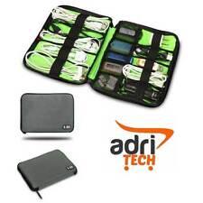 BORSA GRIGIO BUBM DIS-S CAVI PC PENDRIVE USB CUSTODIA MORBIDA HARD DISK CAVETTO