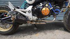 ZoOM Exhaust Honda MSX 125 GROM 125 2013-2016 LOOP Full System Black 2SLZ STUNT