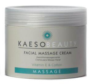 KAESO BEAUTY FACIAL MASSAGE CREAM - 450ml vitamin E & cotton hydrates restores