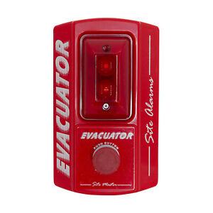 Construction Site Fire Alarm - Evacuator Site Master Push Button Alarm