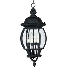Maxim Crown Hill 4-Light Outdoor Hanging Lantern Black - 1039BK
