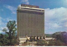 KUALA LUMPUR HILTON Hotel POSTCARD 1970's KL Malaysia