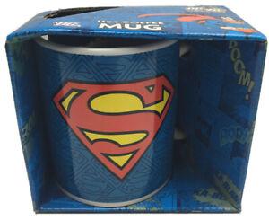 Superman DC Comics Ceramic Coffee / Tea Mug 370ml Still In Box