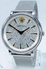 Versace Uhr Uhren Damenuhr VB8100519 V CIRCLE Edelstahl Markenuhr NEU