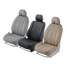 Clazzio Custom Fit Leather Seat Covers For Dodge Ram Pickups - Front & Rear Row