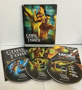 CORE DE FORCE WORKOUT MARTIAL ARTS DVD BOX SET FITNESS CHRISTMAS PRESENT NEW