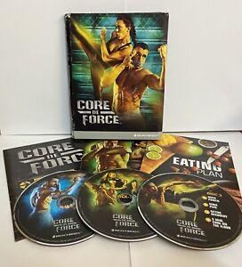 CORE DE FORCE WORKOUT MARTIAL ARTS DVD BOX SET FITNESS CHRISTMAS PRESENT NEW