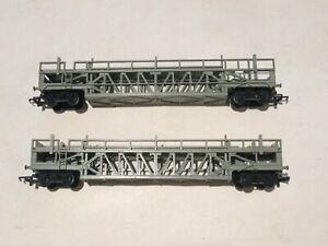 2 TRIANG OO GAUGE R342 CAR TRANSPORTERS