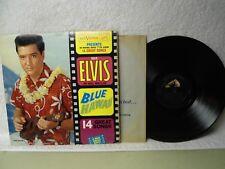 Elvis Presley LP Blue Hawaii Beautiful VG++ 1962 Long Play Mono Soundtrack Orig!