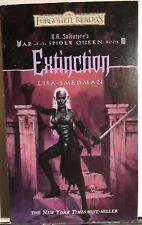 Forgotten Realms Spider Queen:Extinction by Lisa Smedman (2002) Wizards pb 1st
