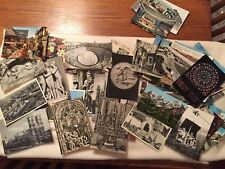 Lot of 70 Vintage European Postcards color & b/w Germany Monaco Sweden France