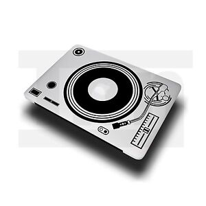 "Sticker Decal Vinyl DJ Record Player Turn Table For MacBook Pro Air 11"" 13"" 15"""