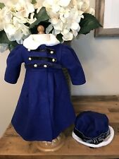 American Girl Doll Caroline's Coat And Hat