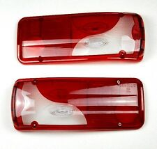MERCEDES SPRINTER VW CRAFTER 2006-UP CHASSIS CAB REAR LAMP LIGHT LENS PAIR SET