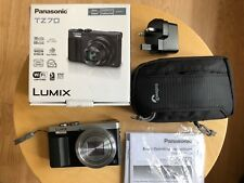 Panasonic LUMIX DMC-TZ70 / DMC-ZS50 12.1MP Digital Camera - Silver Leica