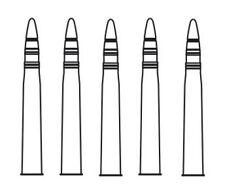 CMK B 72 047 1/72 85mm Munition für T-34/85