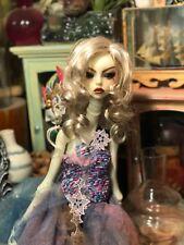 "Monique Gold BJD 7/8 wig ""Bea""- Bleach Blonde Brown Ball Jointed Doll"
