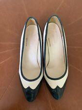 Vintage saddle shoes oxford kitten heels