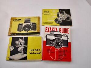 Four Exakta Guides/Booklets (Varex)