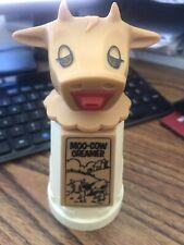 Vintage 6� Moo-Cow Head Creamer Plastic Pitcher Handle Whirley Warren Pa