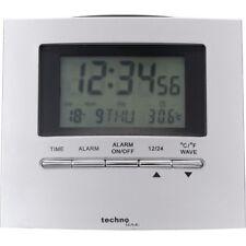 Technoline WT 250 radio despertador plata steigen despertador reloj digital visualización digital