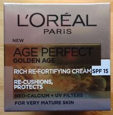 L'OREAL AGE PERFECT GOLDEN AGE Ricca crema re-fortifying SPF15 - 50ml