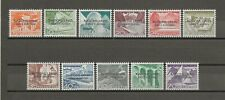 UNITED NATIONS (EUROPE) 1956 SG 1/11 MNH Variety