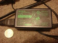 One Sony Ac power adapter 5.2V Pega-Ac10 2000mA V01380