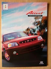 HYUNDAI ACCENT 2002 sales brochure - French text Swiss Mkt