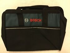 """New Bosch 15"""" x 10"""" x 12"""" Heavy Duty Contractors Tool Bag With Two Front Pockets"""