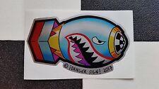 ¡Bombs Away! ltd edition silver sticker by ¡DANGER SIGN! hot rod VW custom bomb