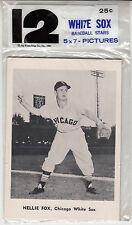 1961 Jay Publishing Chicago White Sox Baseball Stars - 12 - 5x7 Pictures