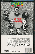 I Kong And Jamaica - Africa Calling (Cassette Tape) **BRAND NEW/STILL SEALED**
