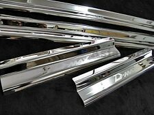 SILL STAINLESS SCUFF PLATE STEEL TRIM SET FOR ISUZU DMAX D-MAX 4 DOORS 2002-2011