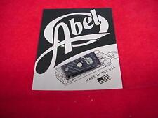 Abel Super Nipper Clipper Cutter Slate Grey Great New