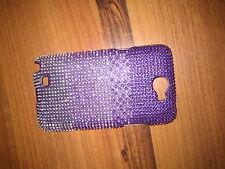 Samsung Galaxy Note II Handyhülle,Glitzersteine,violett-strass,neu